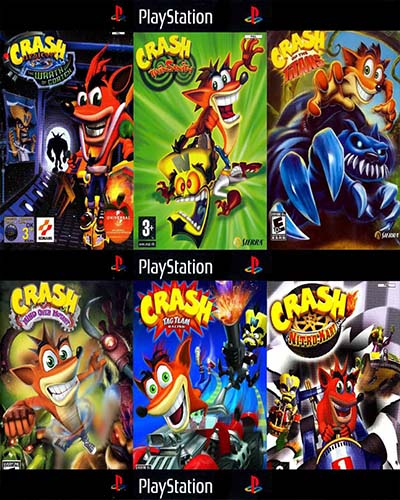 سری کامل کراش 1-2-3 Crash.Bandicoot