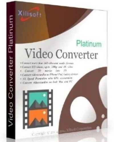 دانلود نرم افزار Xilisoft Video Converter Platinum 7.8.14 + Crack