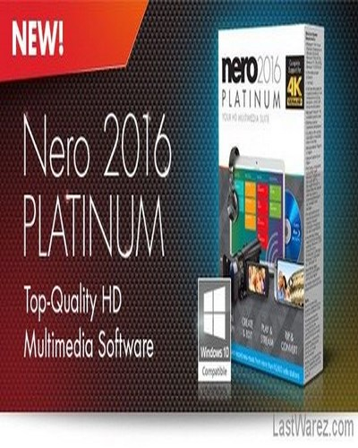 نرم افزار  Nero 2016 Platinum v17.0.02000 FINAL + Crack