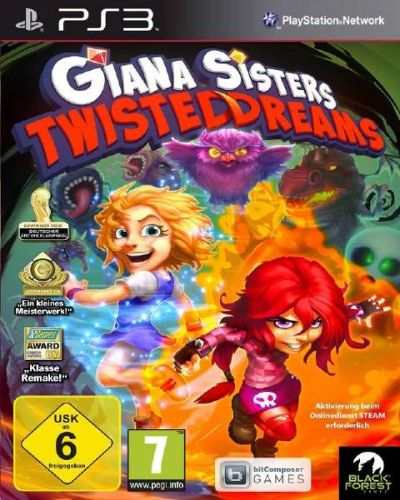 دانلود بازی Giana Sisters: Twisted Dreams - PlayStation 3
