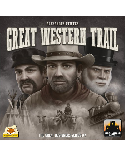بازی رومیزی (pnp) Great Western Trail